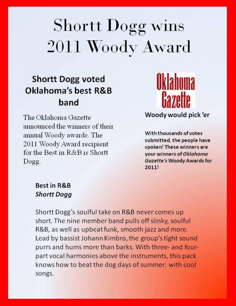 SD Wins Woody Award